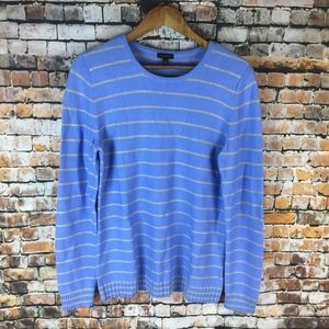 Talbots Striped Long Sleeve Top